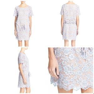 Diane von Furstenberg Amal Lace T-shirt Dress